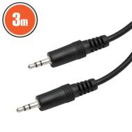 Cablu JACK-JACK fisa 3.5mm lungime 3 Metri