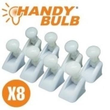 Set cu 8 becuri Handy Bulb cu intrerupator