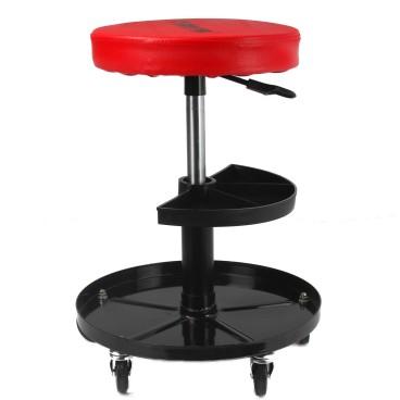 Scaun reglabil rotativ, tapitat , suport pentru chei