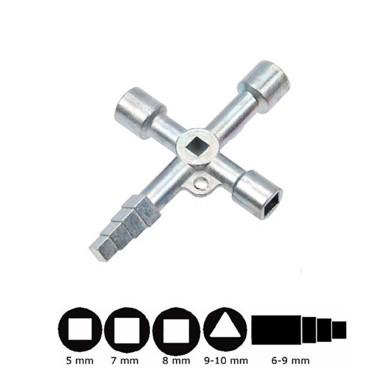 Cheie multifunctionala 5in1 pentru tablouri electrice sau dulapuri tehnice