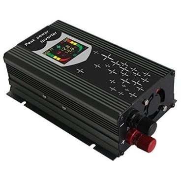 Invertor auto CPU Control Digital cu Display 1000W