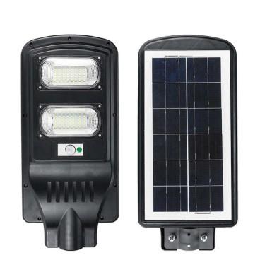 Lampa cu panou solar , senzor de miscare si comutator de noapte, 30W