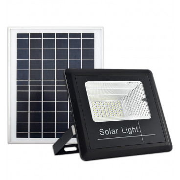 Panou solar cu proiector 400W, cu telecomanda